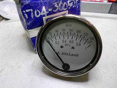 "ALPHA LAVAL ""FLUSH MOUNT"" SANITARY PRESSURE SWITCH 85mm Dia -- 74 386-00"