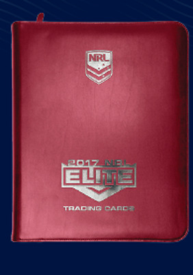 **7 day Special**2017 NRL ESP Elite album,18 pages, common set of 160 cards.