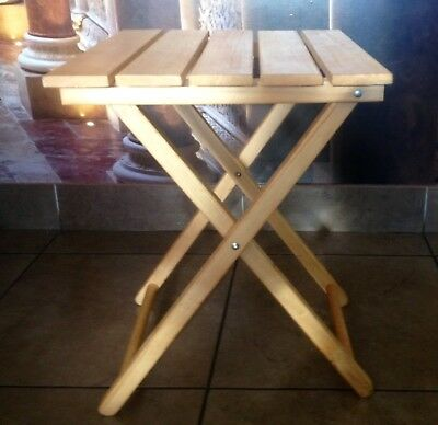 4 Wooden Table (Small ,Folding,picnic, Portable )