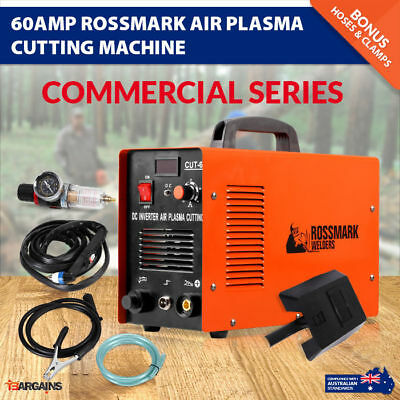 NEW Rossmark 60AMP DC Inverter Air Plasma Cutting Cutter Machine Commercial 60A