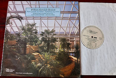 William Sterndale Bennett Piano Conc 4/symphony Lp Binns Mkm 861 Dig Nm (1986)