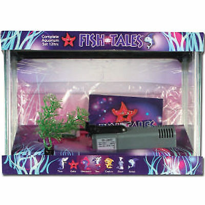 Aquarium Fish Tank Children Fishtales Starter Kit Indoor Aquatics New 18L