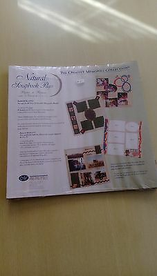 Creative Memories Natural Scrapbook refill pages 12x12