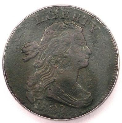 1802 1/000 Draped Bust Large Cent 1C S-228 - ICG VF30 Detail - Rare Coin Variety