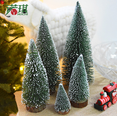 New Tabletop Christmas Pine Tree White Mini White Pine Tree Small decorations