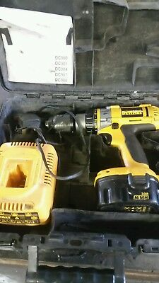 Dewalt 14.4v nimh hammer drill. Read description