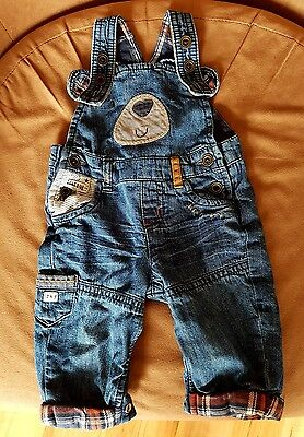 Next baby boy dungarees 0-3 months