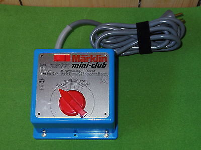 Marklin Mini-Club 6729 Transformer For Z Gauge - Pristine Oz Stock!!