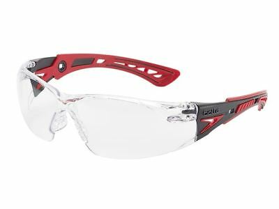 Bolle Rush+ Platinum Safety Glasses Spectacles Clear Lens RUSHPPSI