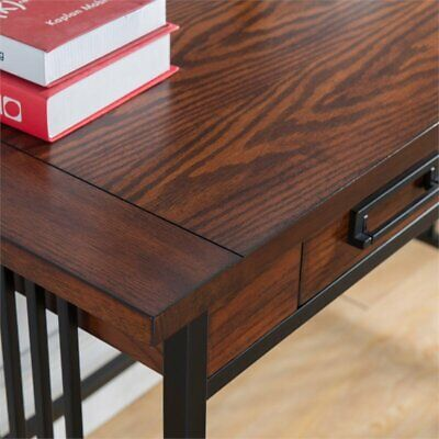 Astonishing Solid Wood Mission Style Ash Oak Writing Computer Office Squirreltailoven Fun Painted Chair Ideas Images Squirreltailovenorg