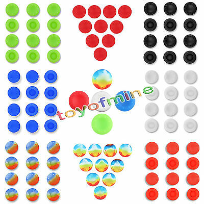 10 Cool Analog Controller Silic Cap Deckel Thumbstick Griff für PS3 PS4 XBOX ONE