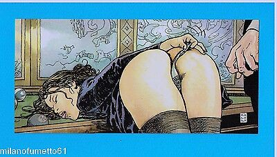 MILO MANARA SET DI 3 PROMO CARDS - Carte da collezione Limited Edition