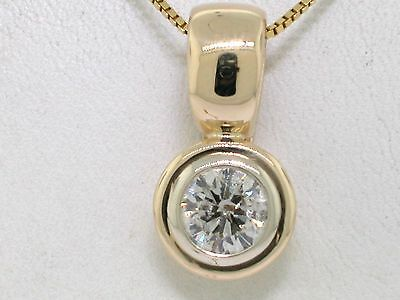 Diamant Brillant Clip Anhänger 585 Gelbold 14Kt Gold Brillant 1,27ct