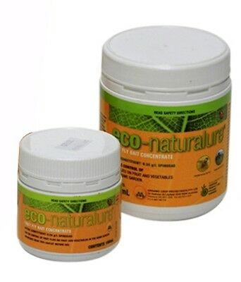 eco-naturalure - Registered Organic Fruit Fly Bait Spray - Pest Control - 500g