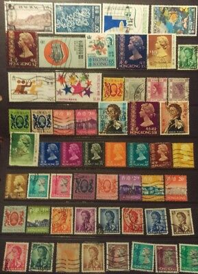 Hong Kong Stamp Selection used L27