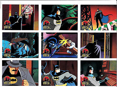 Batman & Robin, Complete Adventures - Complete Card Set (1-90) 1995 @ Near Mint