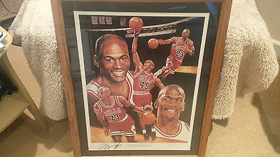 Michael Jordan Autographs Michael Returns  C.O.A