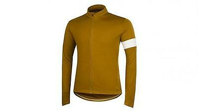 Rapha Old Gold Long Sleeve Jersey. Size XS. BNWT.