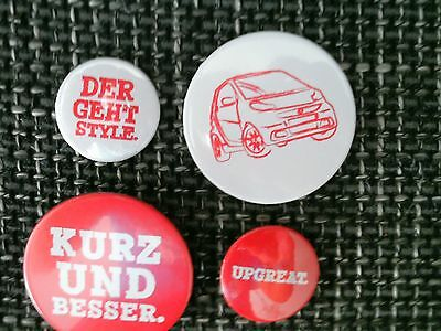 Smart Fortwo Pins ---Selten --Wow