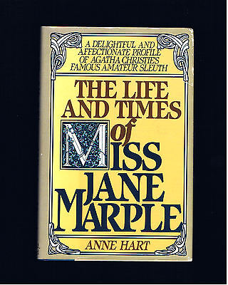 AGATHA CHRISTIE ~ THE LIFE & TIMES OF MISS MARPLE ~ ANNE HART ~ 1st Ed ~ EX COND