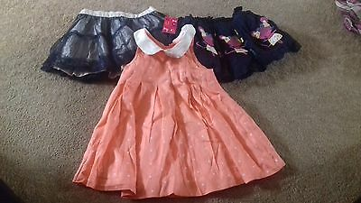 BRAND NEW - BUNDLE OF GIRLS CLOTHES - 12-18 MONTHS - DESIGNER - box =