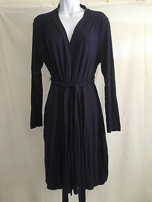 A pea in the pod maternity Knit cardigan with ties Navy size L
