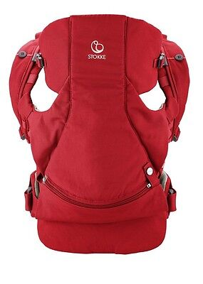 Stokke MyCarrier 3 In 1 Front And Back Carrier (Red)
