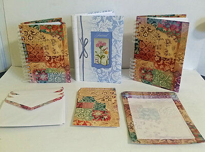 68 piece Journal Diary Retro Stationary Address Book notes envelopes mothers day