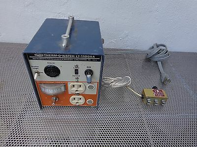 Therm-O-watch Variable Voltage Temp Controller L7-1100SA/28T w/ Sensing Head