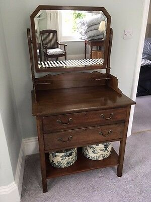 Art Nouveau style Edwardian Dressing Table / chest of drawers