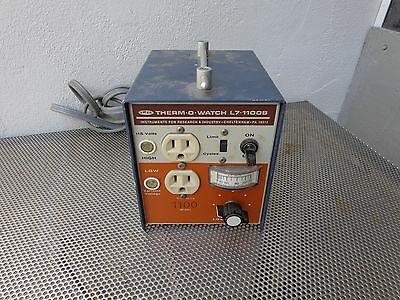 Therm-O-watch Variable Voltage Temp Controller L7-1100B w/o Sensing Head