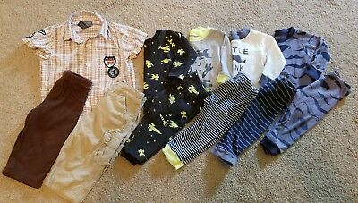 Boys 9 month jammies and outfit! 11 piece. Polo and Carter!