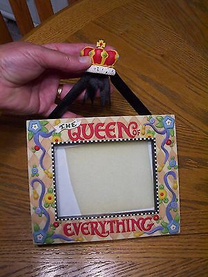 Mary Engelbreit  PHOTO FRAME The Queen of Everything Stand Up or Hanging As Is