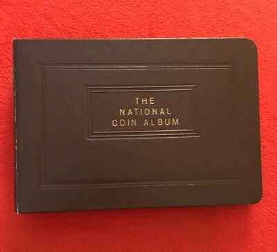 Vintage - The National Coin Album - United States Cents 1856 - 1917