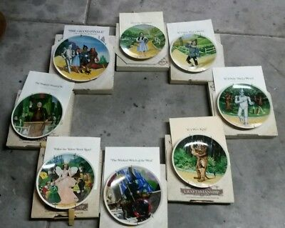 The Wizard of Oz collector plates