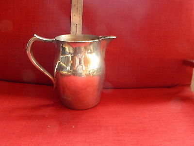"Vintage Silverplate large pitcher, about 15"" high and 8"" wide.Curvy and Elegant"