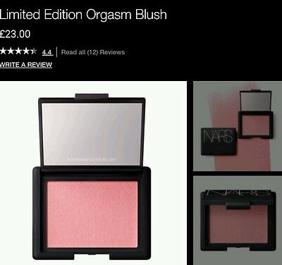 Nars limited edition Orgasm blush