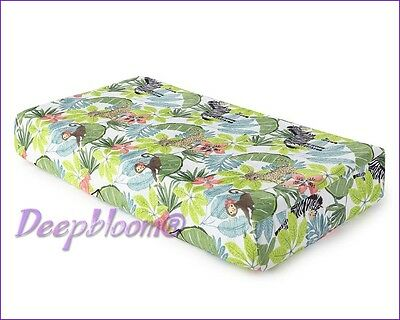 Levtex Baby Changing Pad Cover - Oasis Safari Monkey New