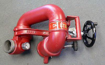 Akron Brass 3414 Apollo Monitor, Manual, Deck Gun, New Surplus