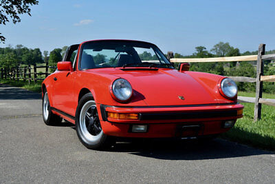 1987 Porsche 911 Carrera Convertible 2-Door 1987 Porsche 911 Carrera Targa G50 with 53K Documented Miles/STUNNING!!!