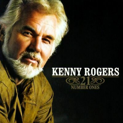 Kenny Rogers 21 Number Ones Cd + Bonus Track / The Best Of / Greatest Hits / New
