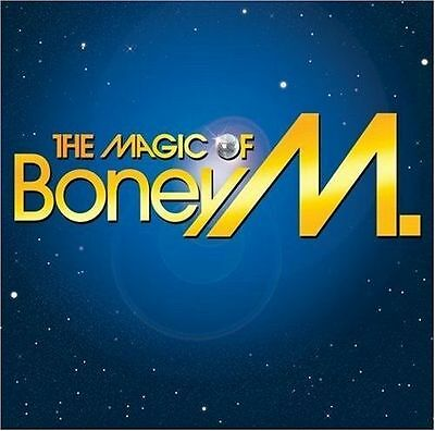 Boney M: The Magic Of Greatest Hits Cd The Very Best Of / New
