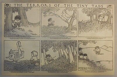 The Terrors of the Tiny Tads by Gustave Verbeek from ?/1912 Half Page Size!