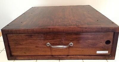 Antique 1930's Indiana Cash Drawer Country Store Register Vintage Working Bell