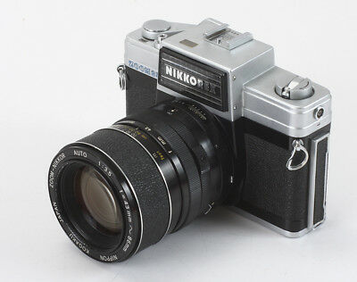 Nikon Nikkorex Zoom 35, 43-86/3.5 Zoom-Nikkor, Problems, As-Is/197835