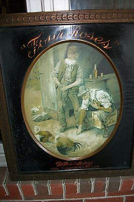 Old Paul Jones Whiskey 1912 Tin Picture- Louisville, KY!!