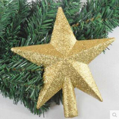 Christmas Decorations Christmas Tree Top Star Five-pointed Star Pendant Ornament