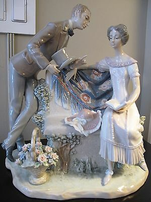 "RETIRED LLADRO ""WILL YOU MARRY ME"" #5447 (1987-1994) Rare Collectible Mint"