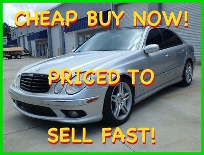 2005 Mercedes-Benz E-Class E55 AMG 469 HP PANO LTHR HK XENON CHEAP BUY NOW 2005 MERCEDES E55 AMG 469 HP PANO HEATED COOLED LTHR HK CD XENON CHEAP BUY NOW