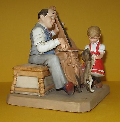 Vintage Signed Norman Rockwell Museum 1982 84 High Stepping Figurine